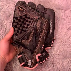 Youth Mizuno softball glove